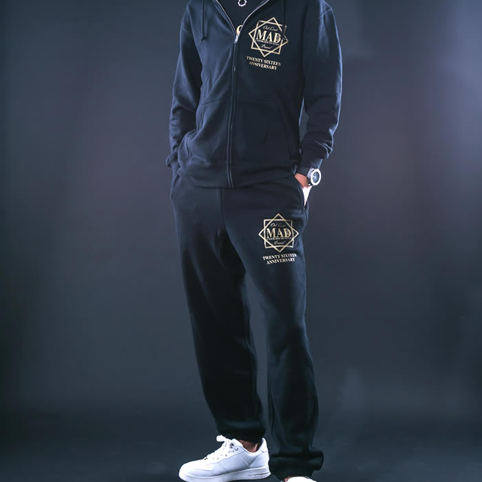 MS16JI09 BLACK GOLD SWEAT PANTS スウェットパンツ