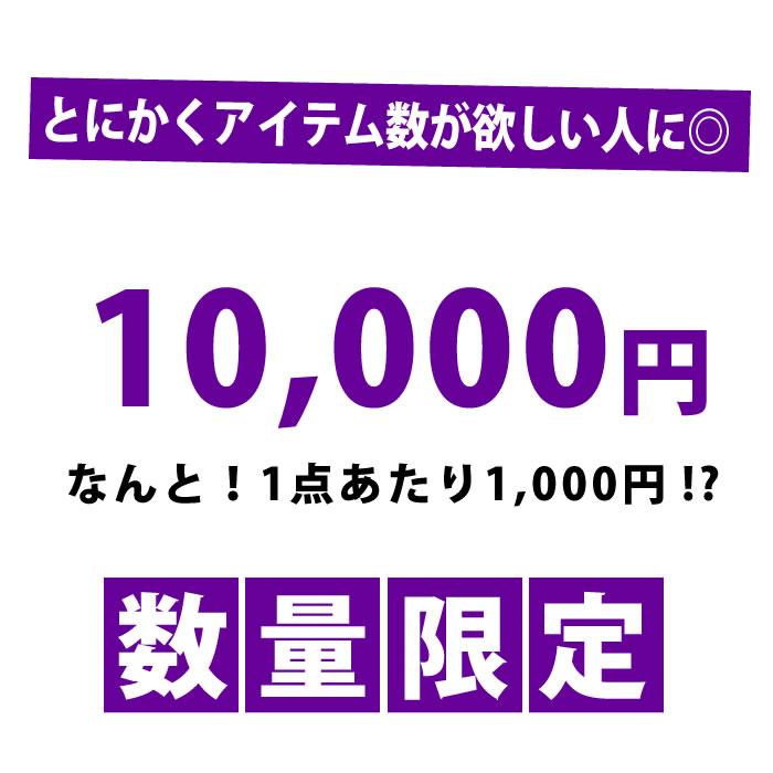 【目玉】 アイテム10点を詰込み!? まさかの10,000円福袋っ レディース女用