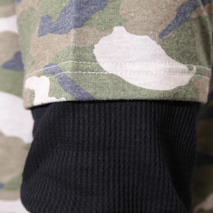 MS15NA72 Camo Layered Long Sleeve T-shirts