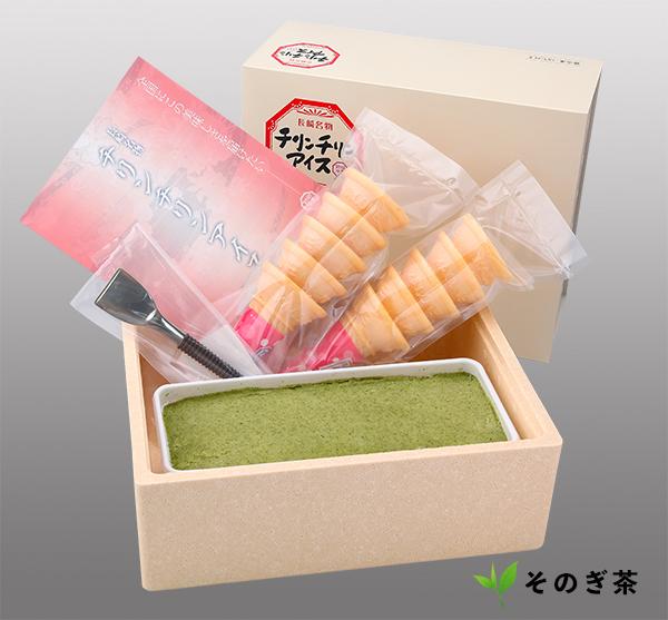 チリンチリンアイス・ファミリーセット(コーン10個分付き)