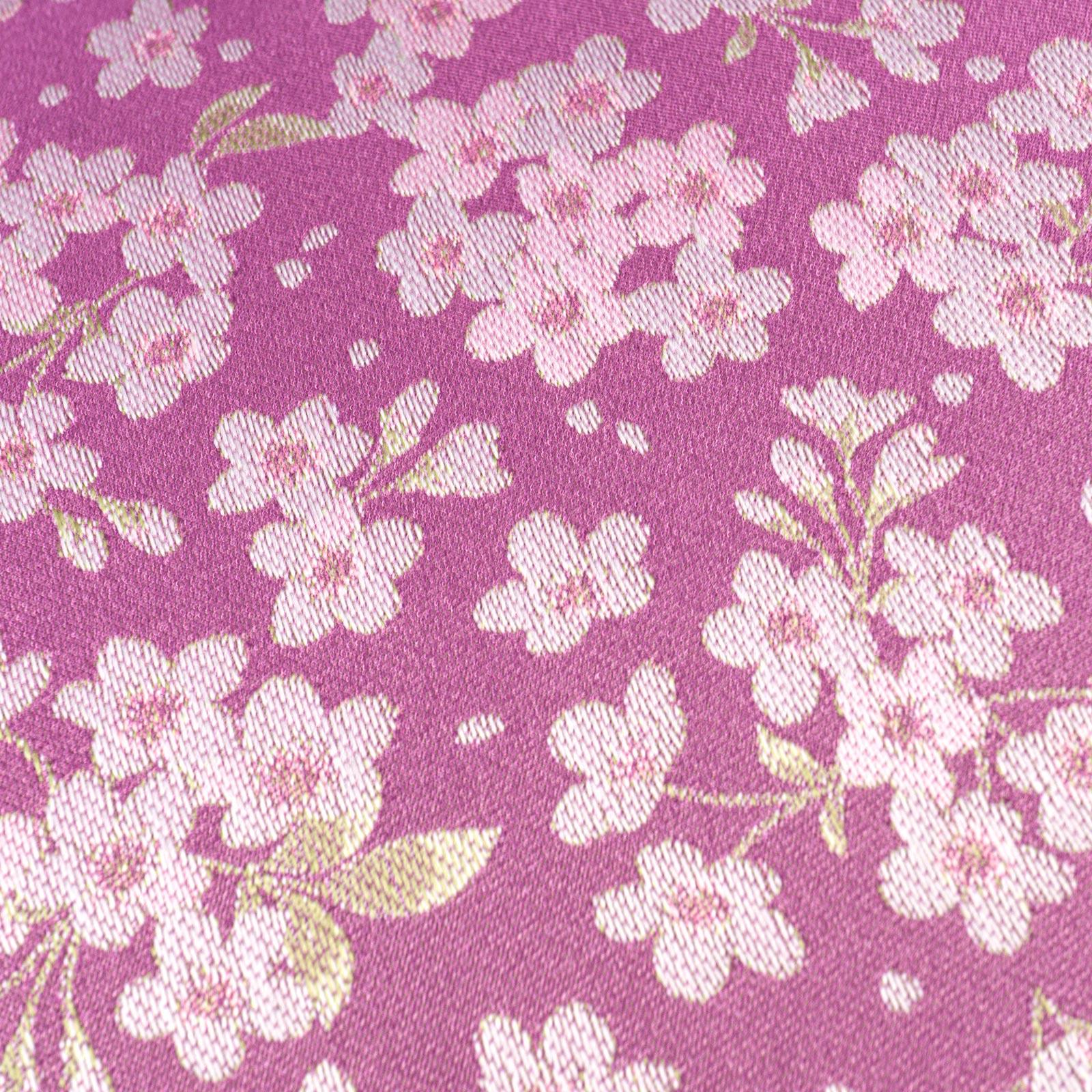 【婦人】小桜-折りたたみ-パープル