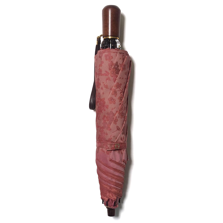 【婦人】小桜-折りたたみ-ピンク