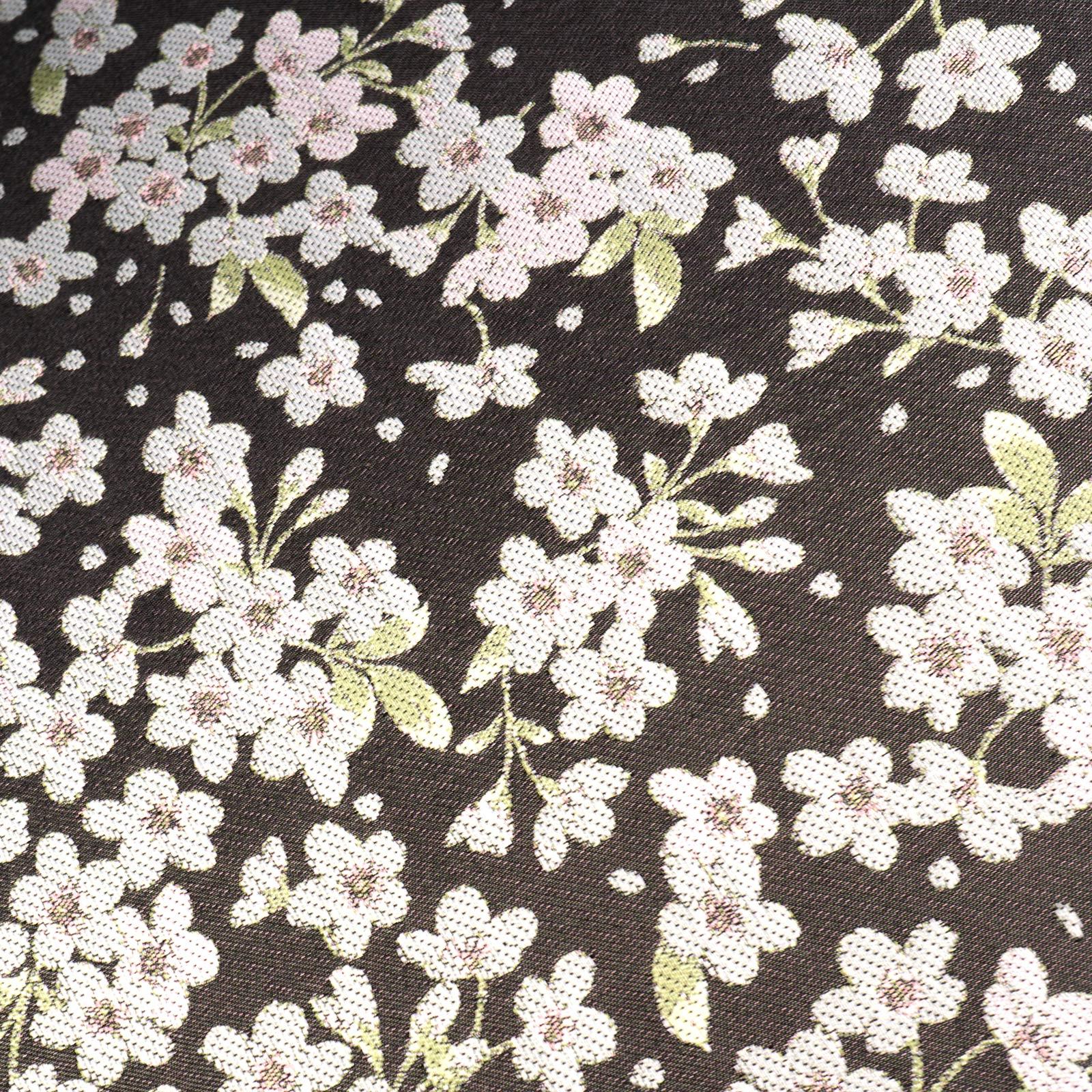 【婦人】小桜-折りたたみ-ブラック