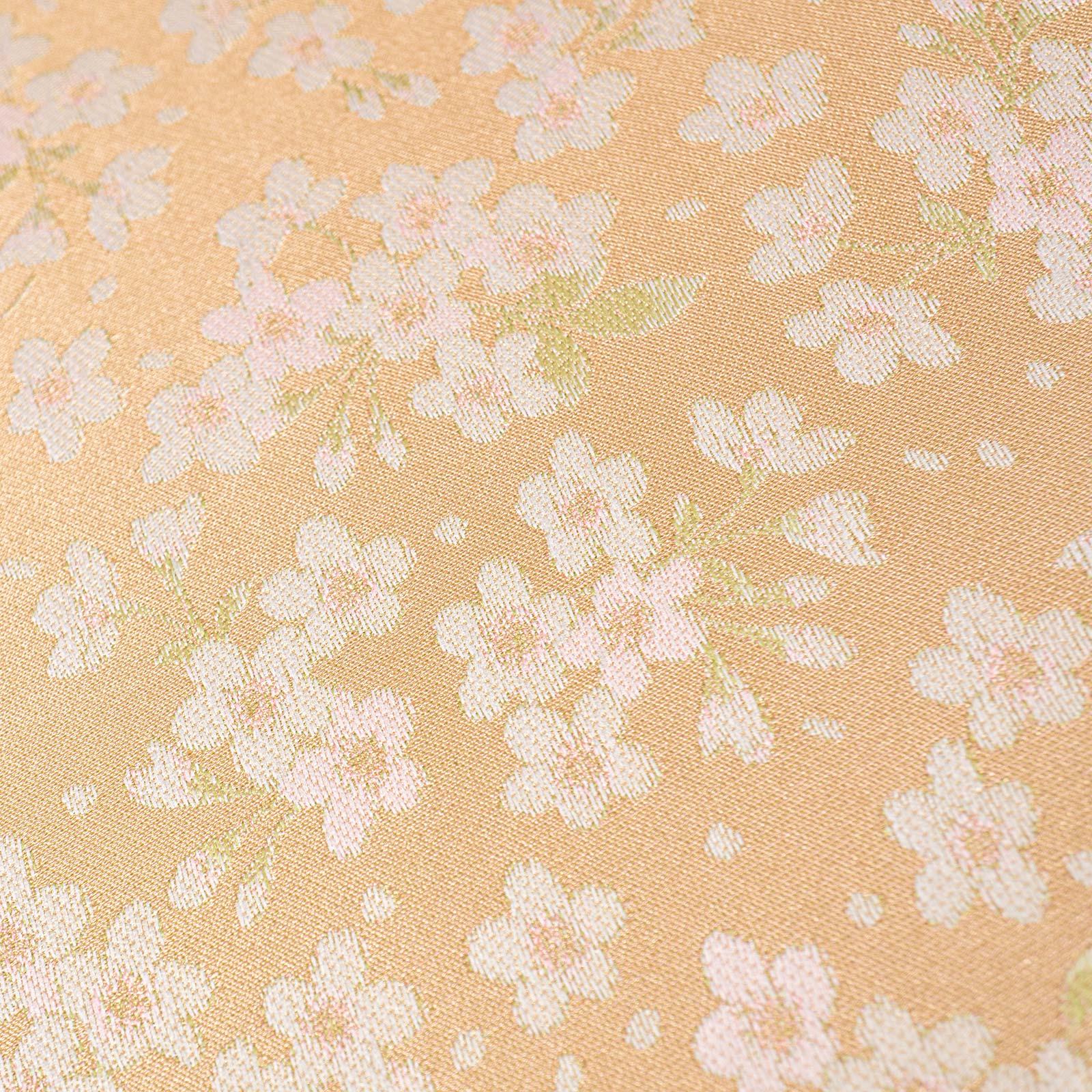 【婦人】小桜-折りたたみ-ベージュ