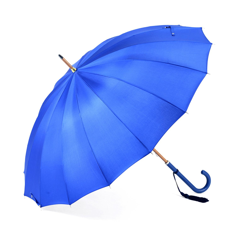 【婦人】トラッド-16-L-ロイヤルブルー 牛本革手元