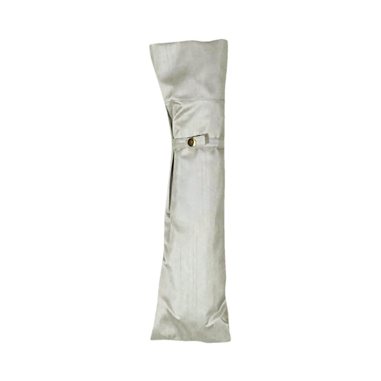 【婦人】晴雨兼用-シャンタン/50センチタイプ-折りたたみ-グレー