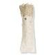 【婦人】日傘-麻トーションレース-1706-折りたたみ-ベージュ