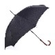 【紳士】晴雨兼用-一級遮光キューブ-長-ブラック