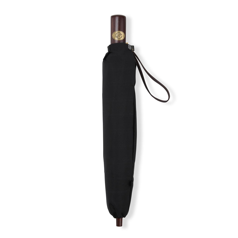 【紳士】マドラス-折りたたみ-ブラック