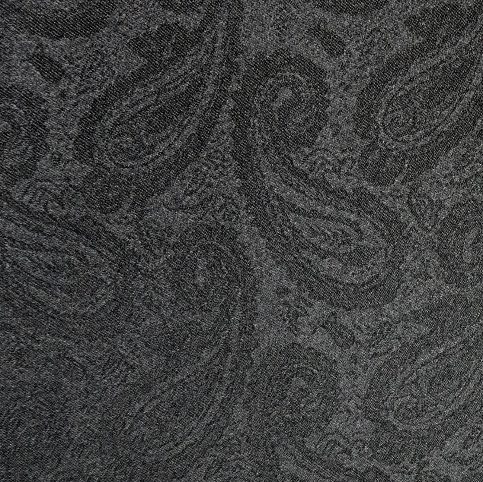 【紳士】晴雨兼用-一級遮光ペイズリー-長-ブラック