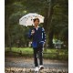 【紳士】日傘-麻-長-ベージュ