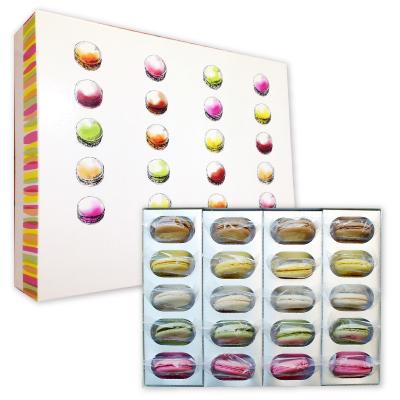 送料込み マカロン20個入 オリジナルギフトボックス おまかせで10種各2個づつ入ります