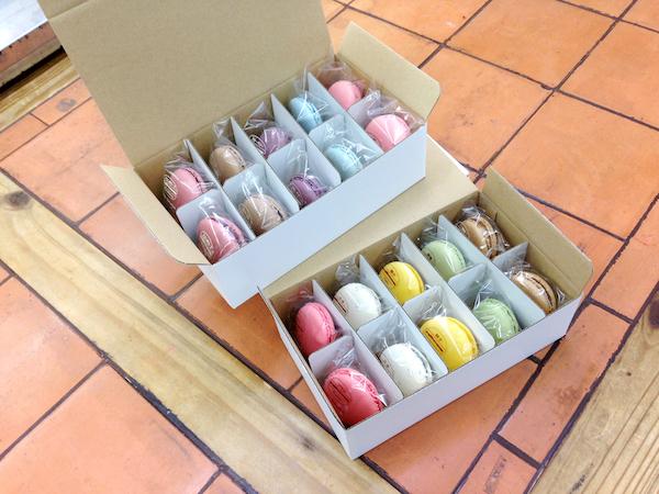送料別 マカロン20個入 自宅用簡易ボックス(おまかせで8種からセレクト)