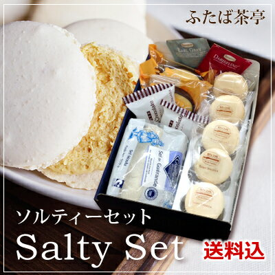 送料込み 極上塩ソルティセット 簡易ギフトボックスにてお届け
