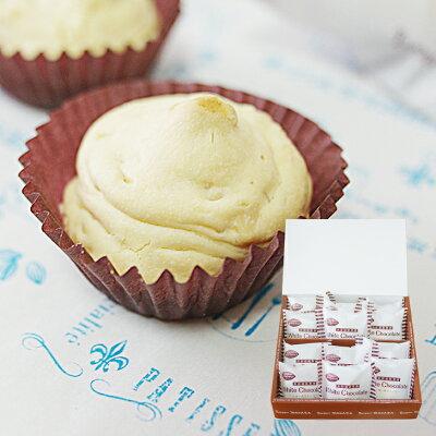 送料別 白い焼きチョコ12個入 簡易ギフトボックス