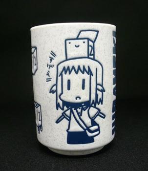 ひらめきはつめちゃん 特製湯のみ 2012年夏ver