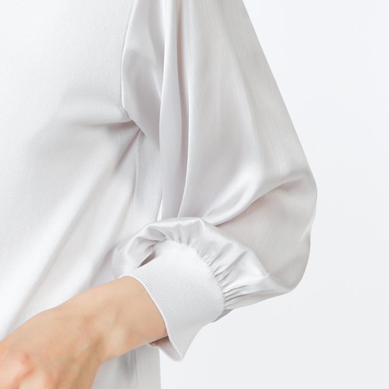 【銀座マギーオリジナル】チロルストレッチニットプルオーバー[全3色]