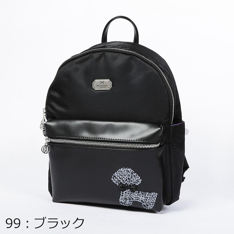【銀座マギー】プードルモチーフリュック[全3色]