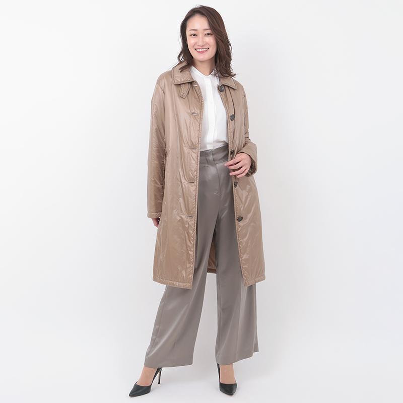 PLATINE/超軽量 ポケッタブル 中綿 コート[全3色]