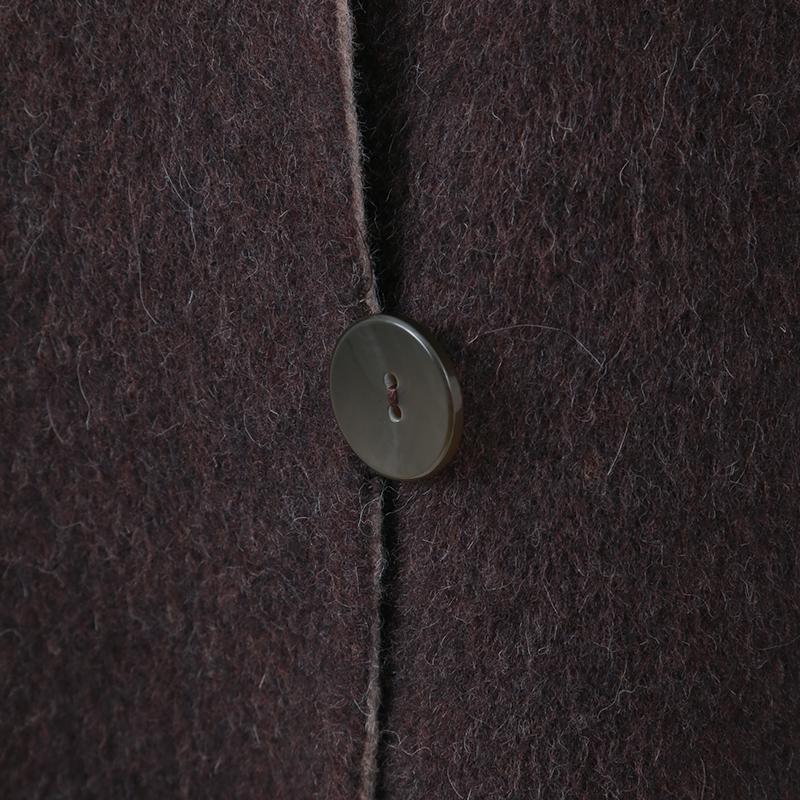 銀座マギー/フォックスファーリバーシブルコート[全3色]