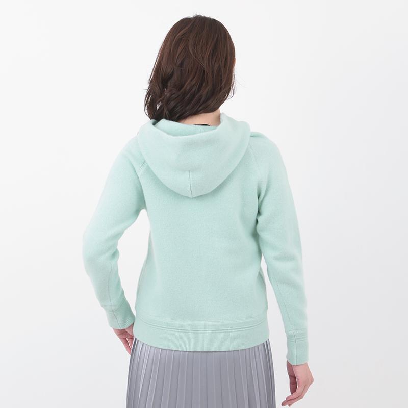 MAGGY/カシミヤ フーデット パーカー[全4色]
