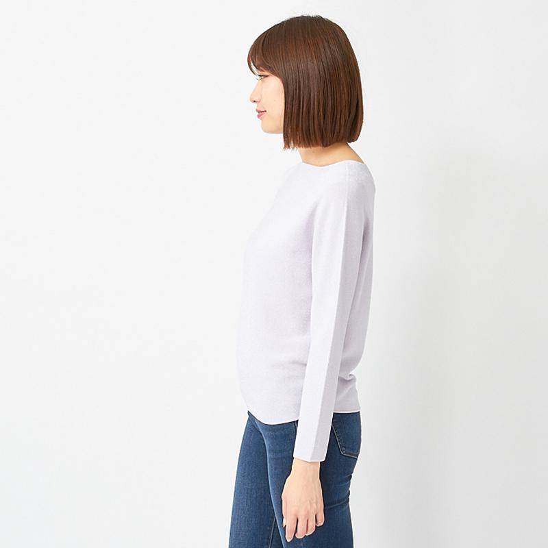 【銀座マギーオリジナル】ラメ ニット プルオーバー[全5色]