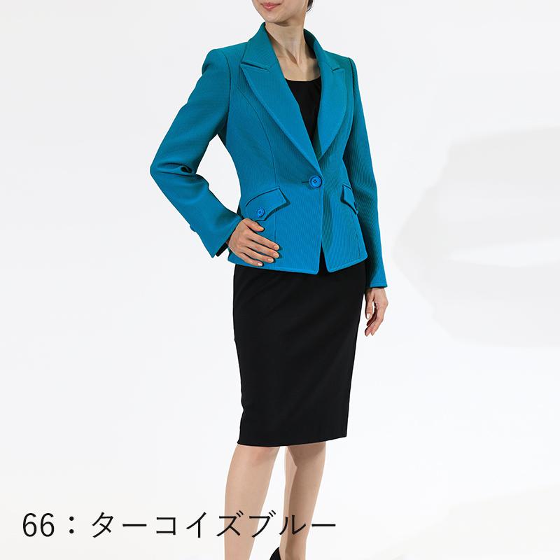 【銀座マギー別注】リブストライプテーラードジャケット[全2色]