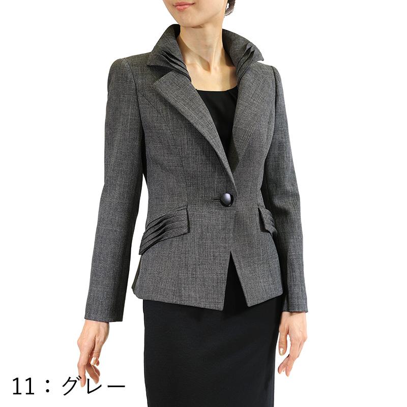 【銀座マギー別注】タック デザイン ジャケット[全2色]