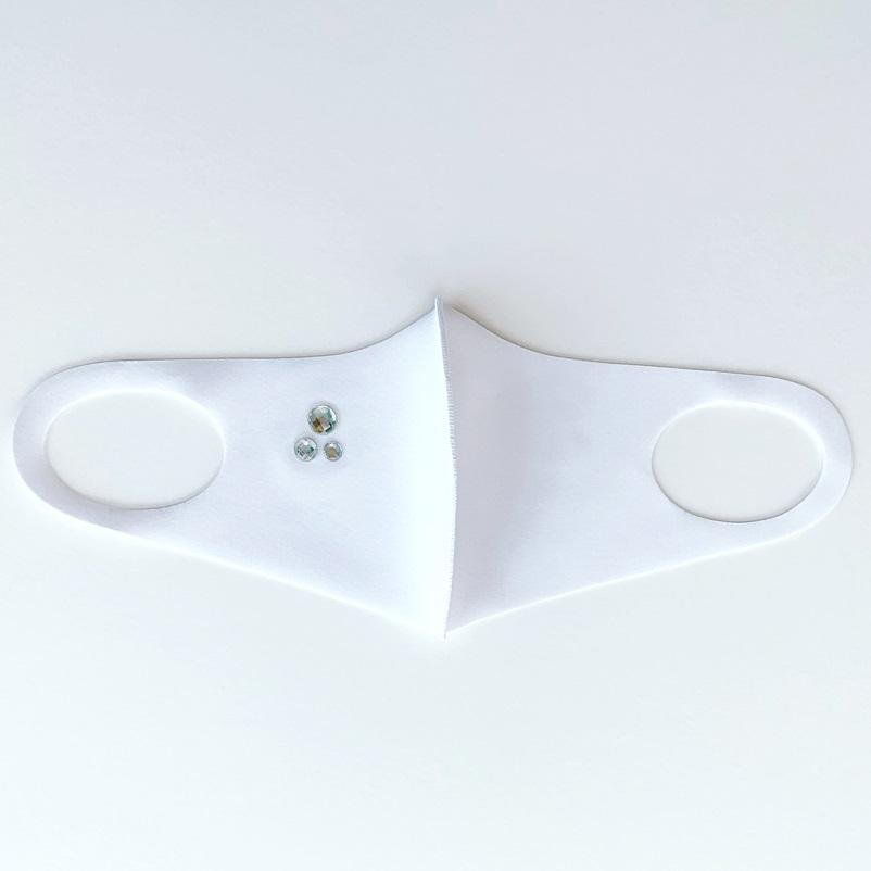 pool studio alivier/ビジュー付マスク[全2色]