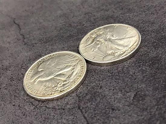 マグネット・ウォーキングリバティーコイン/Magnetic Walking Liberty Half Dollar (Super Strong)