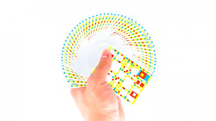 【特価】モンドリアン:ブロードウェイ・デック / Mondrian: Broadway Playing Cards