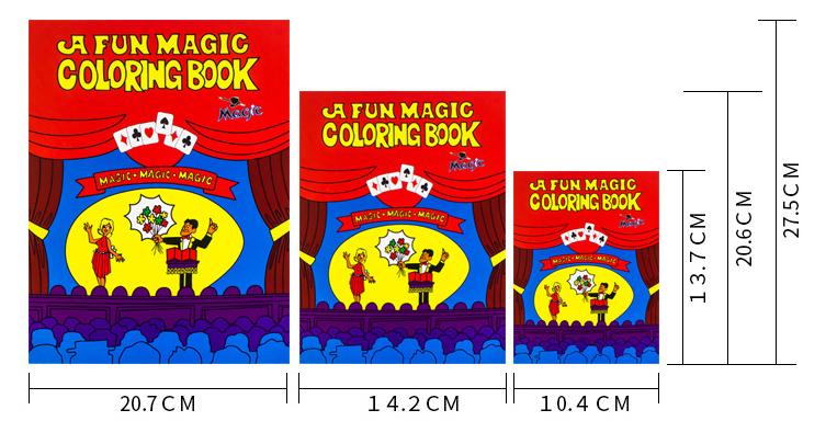カラーリングブック:中サイズ / a Fun Magic Coloring Book