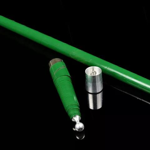 金属製バニシングケーン:緑 ※