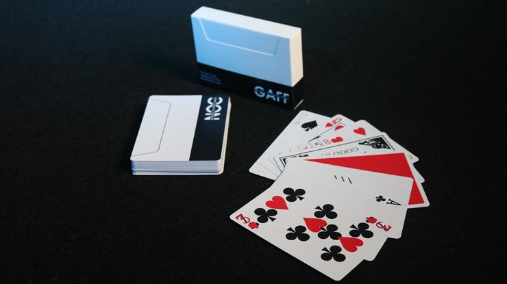 NOCデック:ギャフ(黒)/NOC V3S Gaff Deck (Black)  by The Blue Crown