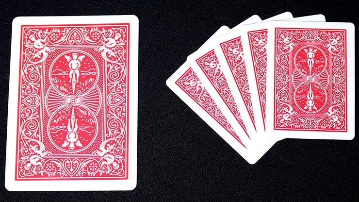 ミニバイスクル:赤 / Mini Bicycle Cards