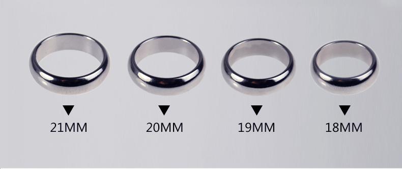 ゴールドPKリング(21mm)鏡面加工