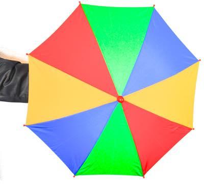 パラソル「4色レインボー」アピアリングパラソル(レギュラーサイズ)