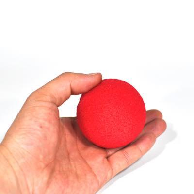 スーパーソフト・スポンジボール(赤)80�4個セット/3 inch Super Soft Sponge Ball (Red) Pack of 4 from Magic by Gosh
