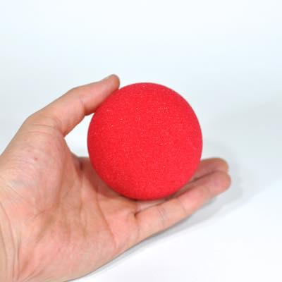 スーパーソフト・スポンジボール(赤)100�単品