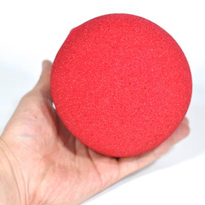 """スーパーソフト・スポンジボール(赤)130�単品(5"""" Super Soft Sponge Ball (Red))"""