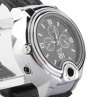 ライターウォッチ:シルバー/Watch Lighter(Silver)※
