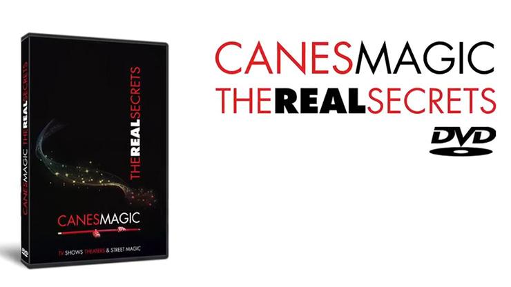 ケーン・マジック/Canes MAGIC - The Real Secrets DVD  by Fabien Solaz