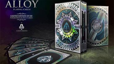 アーロイ・コバルトデック/Alloy Cobalt Playing Cards (Blue)