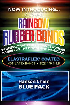 【パック販売】輪ゴム(♯19)青 / Joe Rindfleisch's Rubber Bands