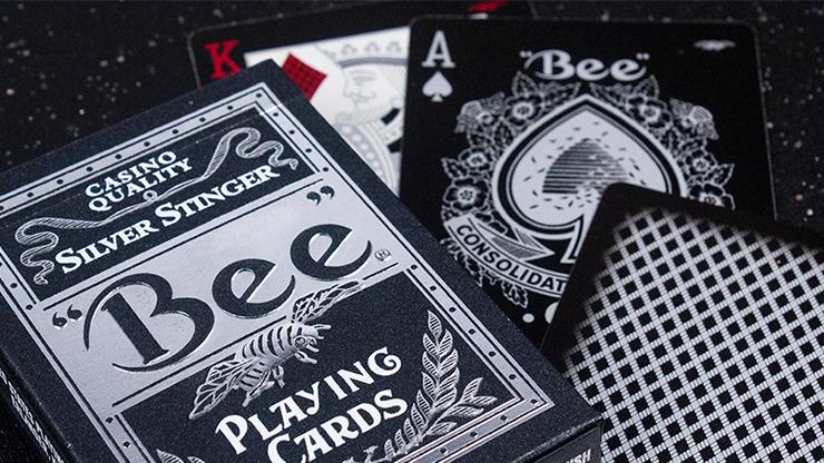 Bee:シルバー・スティンガーデック(プレミアム・エディション) / Bee Silver Stinger Playing Cards