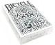 【特価】スティックス・デック:ホワイト / Bicycle Styx Playing Cards (White) by US Playing Card Company