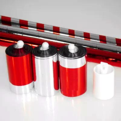 トリプル・カラーチェンジング・ケーン(赤・銀・赤銀セット) / Triple Color Changing Cane (3 Combos) ※