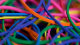 【パック販売】輪ゴム(♯19)レインボー / Joe Rindfleisch's Rubber Bands