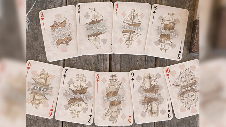パイレーツ・デック / The Pirate Deck (colorized) Playing Cards