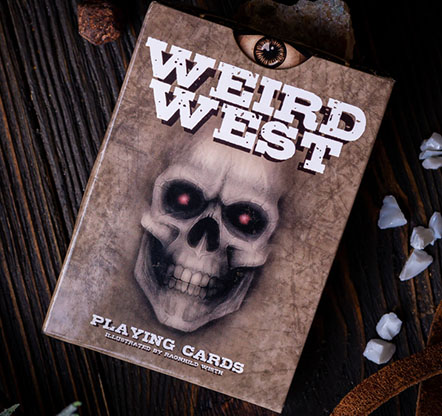 ウェード・ワイルド・ウエスト・デック / Weird Wild West Playing Cards